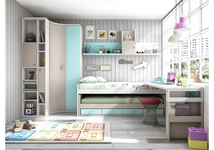 Muebles carlos seixas juveniles for Roperos para dormitorios en lima